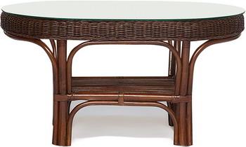 Стол малый Tetchair Andrea Pecan Washed (античн. орех) 8591