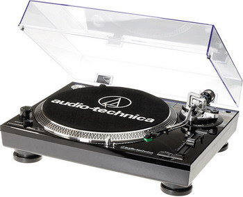 цена на Проигрыватель виниловых дисков Audio-Technica AT-LP 120 BK-USBHS 10 черный