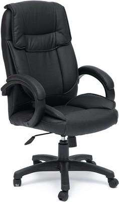 Кресло Tetchair OREON (кож/зам черный/черный перфорированный 36-6/36-6/06) цена и фото