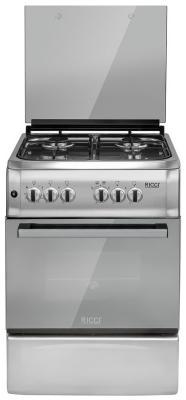 Газовая плита Ricci RGС 5701 IX газовая плита ricci rgс 9001 bg