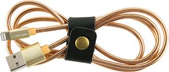 Фото - Кабель Red Line S7 USB-8-pin для Apple металлическая обмотка золотой память ddr4 4x16gb 3600mhz corsair cmk64gx4m4b3600c18 rtl pc4 28800 cl18 dimm 288 pin 1 35в