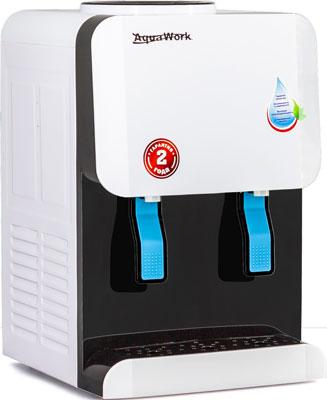 Кулер настольный Aqua Work AW 105 TWR (бело-черный) без нагрева и охл.