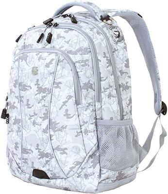 Рюкзак для города Wenger 15 серый камуфляж полиэстер 900D 33х17х46 см 32 л 6659400408 рюкзак городской wenger 26 л серый серебристый 34х16х48см