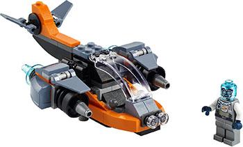 Фото - Конструктор Lego CREATOR ''Кибердрон'' 31111 lego creator городской магазин игрушек 31105