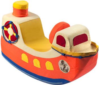 Детская качалка Paremo ''Кораблик'' оранжевый