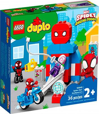 Конструктор Lego DUPLO ''Штаб-квартира Человека-паука''