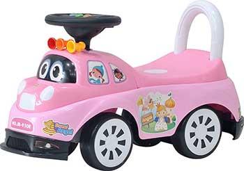 Детская каталка Everflo Happy car ЕС-910 pink everflo каталка everflo машинка smart car m001 pink