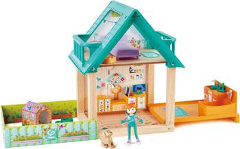 Кукольный домик Hape E3408_HP ''Ветеринарная клиника''
