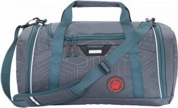 Фото - Сумка спортивная Coocazoo SporterPorter Streetman серый/бирюзовый сумка спортивная coocazoo sporterporter springman мятный