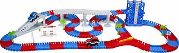 Гибкий трек 1 Toy ''Мегаполис'' 296 деталей Т10200 недорого