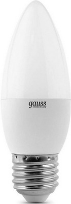 Лампа GAUSS LED Elementary Candle 6W E 27 2700 K 33216 лампа gauss led globe e 27 6 5w 2700 k 105102107