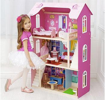 Кукольный дом для Барби Paremo PD 315 Вдохновение с 16 предметами мебели и 2 лестницами