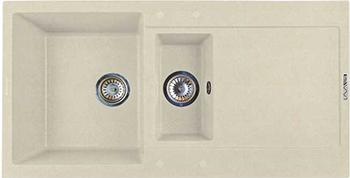Кухонная мойка LAVA D.5 (CREMA) бордюр fap supernatural crema london 5 5x30 5