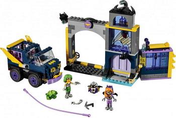 Конструктор Lego SUPER HERO GIRLS Секретный бункер Бэтгёрл 41237 lego super hero girls 41238 конструктор лего супергёрлз фабрика криптомитов лены лютор