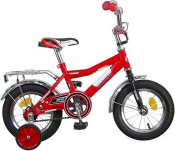 Велосипед Novatrack 12 COSMIC красный 123 COSMIC.RD5 велосипед novatrack cosmic 12 черный