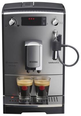 Кофемашина автоматическая Nivona NICR 530 серебро/черный цены