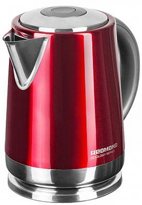 Чайник электрический Redmond RK-M 148 красный стиральная машина zanussi zwq61226wi белый