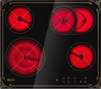 Встраиваемая электрическая варочная панель Ricci KS-T 46602 IR2 цена и фото