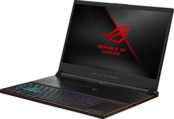 цена на Ноутбук ASUS GX 531 GM-ES 044 T i7-8750 H (90 NR 0101-M 01040) Black Aluminum