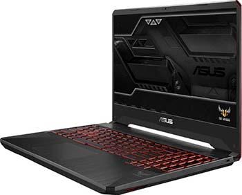 Ноутбук ASUS FX 505 DY-BQ 004 (90 NR 01 A2-M 02610) черный цена