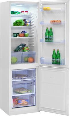 Двухкамерный холодильник NordFrost NRB 110 032 белый цена