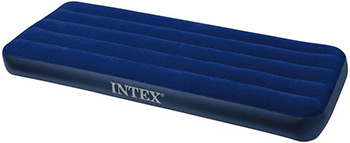 Надувной матрас Intex Classic Downy Airbed Fiber-Tech 76х191х25 64756 матрас intex classic downy надувной 193х76х22 см цвет синий
