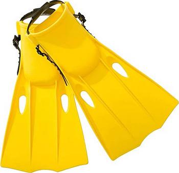 Ласты для плавания Intex ''Small Swim Fins'' р.35-37 желтый 55936 ласты для плавания intex супер спорт в ассортименте