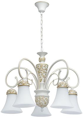 Люстра подвесная MW-light Версаче 639011405 5*60 W E 27 220 V подвесная люстра mw light версаче 639011505