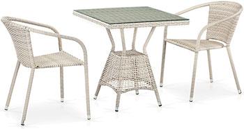 цена на Комплект мебели Афина T 706/Y 137 C-W 85-70 x 70 2Pcs Latte