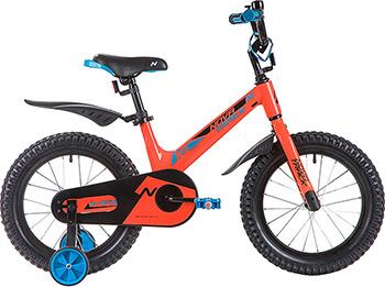 Велосипед Novatrack 16'' BLAST оранжевый 165 MBLAST.OR9