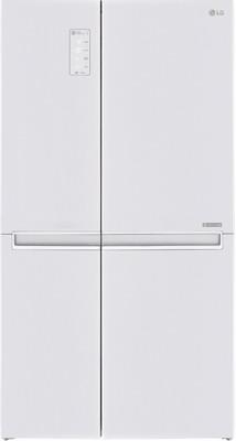 Холодильник Side by Side LG GC-B 247 SVUV белый