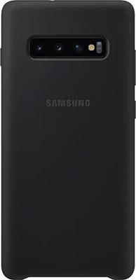 Чехол (клип-кейс) Samsung S 10+ (G 975) SiliconeCover black EF-PG 975 TBEGRU чехол клип кейс samsung s 10 g 975 siliconecover pink ef pg 975 thegru