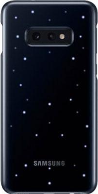 Чехол (клип-кейс) Samsung S 10 e (G 970) LED-Cover black EF-KG 970 CBEGRU клип кейс uniq samsung galaxy s10e black