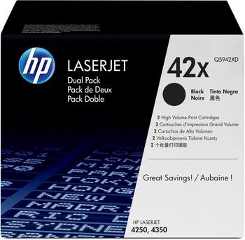Набор картриджей HP Q 5942 XD Черный