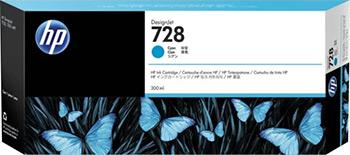 Картридж HP F9K 17 A (HP 728) Голубой