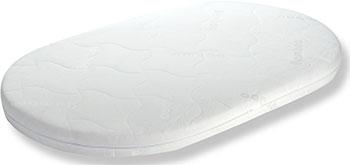 Матрас для кроватки Everflo Oval Aloe vera EV-20 ПП100004041 матрас для кроватки everflo eco jacquard ev 01 пп100004022