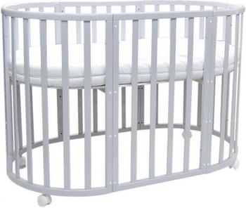 Детская кроватка Everflo Allure gray ES-008 ПП100004142