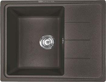 Кухонная мойка Respecta Tira RT-62 горький шоколад RT62.103 коммунарка шоколад горький беловежская пуща элит 200 г