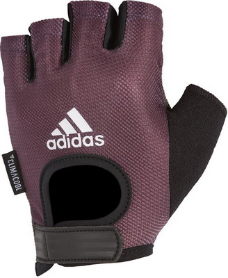 Перчатки Adidas Purple - M ADGB-13214 перчатки park полиэстер полиуретан размер m