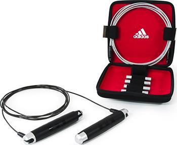 скакалка skipping rope adidas adrp 11011 Скакалка Adidas ADRP-11012 (в кейсе)