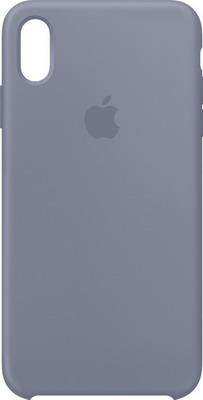 Чехол (клип-кейс) Apple Silicone Case для iPhone XS Max цвет (Lavender Gray) тёмная лаванда MTFH2ZM/A