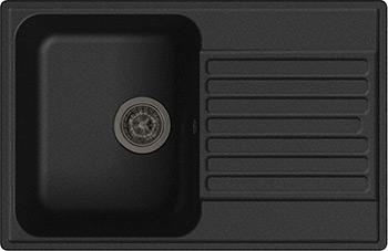 Кухонная мойка Lex Geneva 740 Black кухонная мойка lex garda 620 black черный