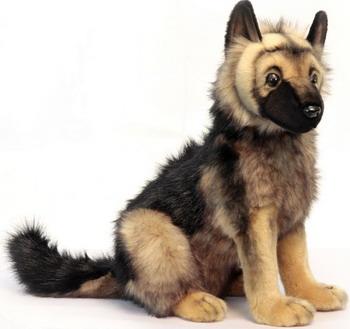 Мягкая игрушка Hansa Creation Щенок немецкой овчарки 3995 мягкая игрушка hansa creation 3973 щенок хаски стоящий 25 см