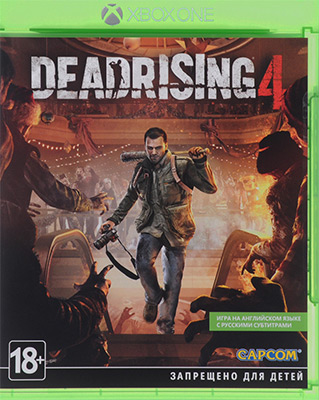 Игра для приставки Microsoft Xbox One: Dead Rising 4 Рус.субтитры. (6AA-00017)