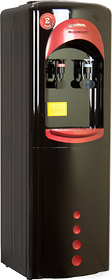 Кулер для воды Aqua Work 16LD/HLN (черно-красный)