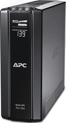 цены на Источник бесперебойного питания APC Back-UPS Pro BR1500GI 865Вт 1500ВА черный  в интернет-магазинах
