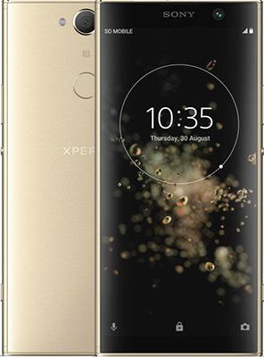 Смартфон Sony Xperia XA2 Plus золотистый смартфон sony xperia xa1 dual sim черный