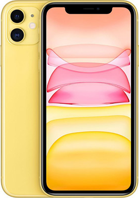 Смартфон Apple iPhone 11 256GB Yellow (MWMA2RU/A) смартфон apple iphone xr dual sim 256gb yellow желтый