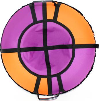Тюбинг Hubster Хайп фиолетовый-оранжевый 100 см во4471-5 цена