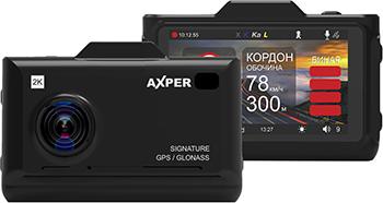 Автомобильный видеорегистратор Axper Combo Hybrid Wi (черный)
